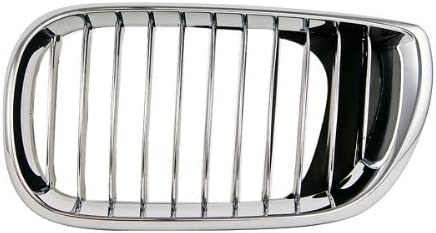 OE Replacement BMW 325//330 Driver Side Grille Assembly Multiple Manufacturers Partslink Number BM1200126