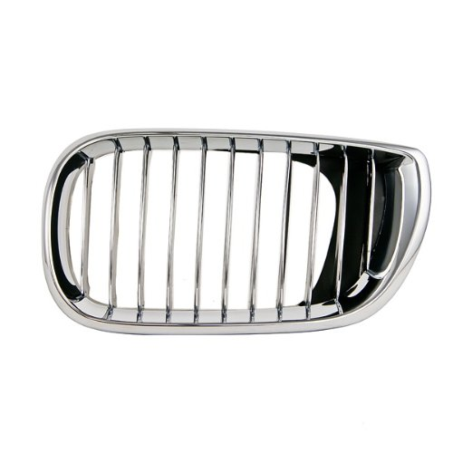 CarPartsDepot, Driver Side Front Grille Chrome Billet Insert Sedan Wagon, 400-12103-01 BM1200128 51137042961