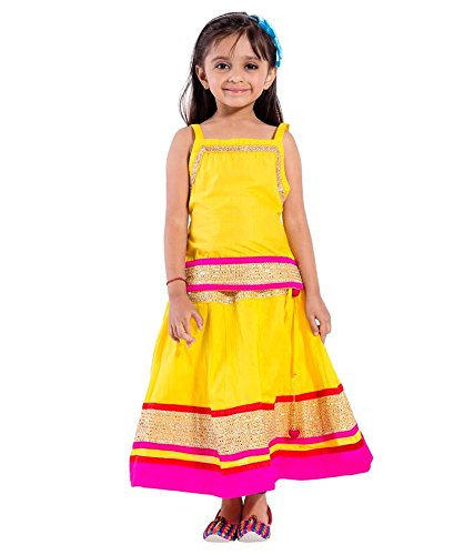 601f16e778 Rangsthali Designer Party Wear Black lehenga Choli For Kids (For Girls)  Size (for 2-3 Years): Amazon.in: Clothing & Accessories