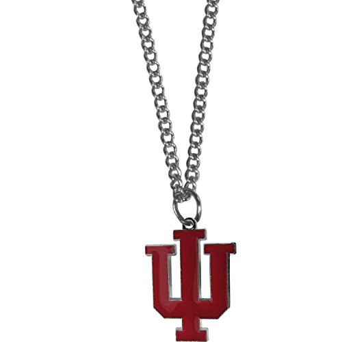 Siskiyou NCAA Indiana Hoosiers Chain Necklace with Small Charm, 20
