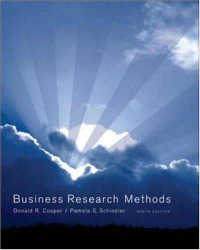 Business Research Methods with CD (McGraw-Hill/Irwin)