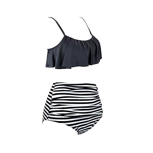 2pcs Tankini Costume da Bagno Donna Vita Alta Taglie Forti Tankini Mare Tankini Bikini/Costumi da Bagno Ragazza Mare… 5 spesavip