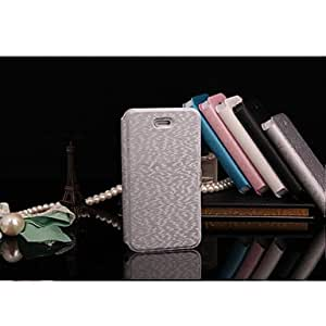 LCJ Special Design PU Leather Full Body Case for iPhone 4/4S(Assorted Colors) , Gray