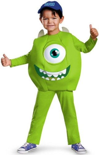 Mike Toddler Deluxe Toddler Costume - Toddler Small ()