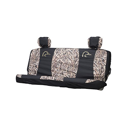 Ducks Unlimited Seat Cover, Full Bench, Shadow Grass Blades Camo, Pack of 1 (Front Shadow Bench)