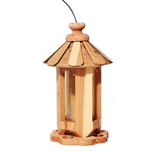 Lxrzls Wooden Bird Table | Bird Feeder | Birdhouse | Feeding Station