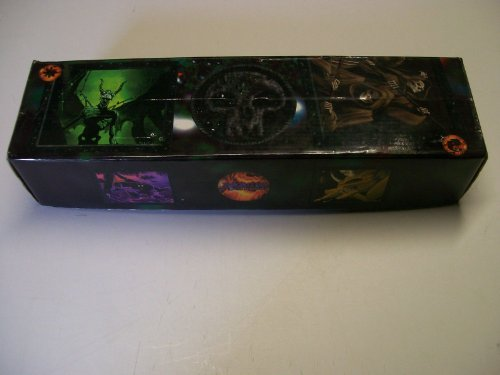 Magic the Gathering - 800 Count Collectable Storage Box - 1996 Black Mana ()