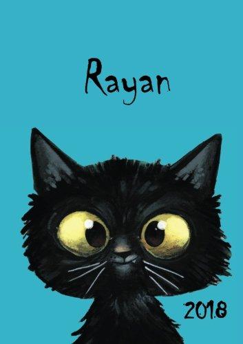 Download 2018: Zebra-Namens-Kalender 2018 -Rayan - DIN A5 - eine Woche pro Doppelseite (German Edition) ebook