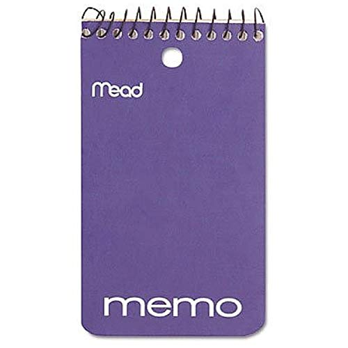 (Mead Wirebound Memo Book, Colors May Vary 1 ea)