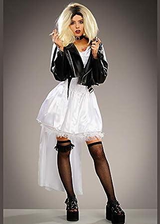 Delights Señoras Childsplay Traje de la Novia de Chucky Tiffany ...