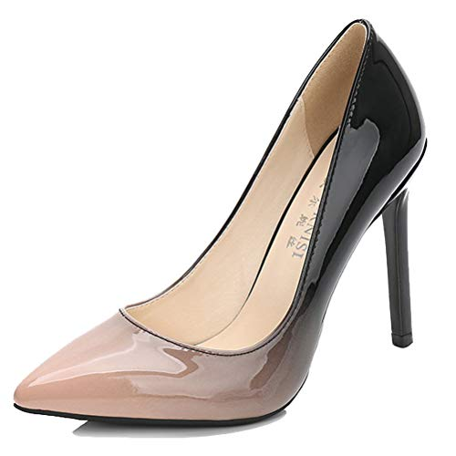 Sandales Compensées 5 36 Femme Abricot Beige HiTime EU zdqwnvad