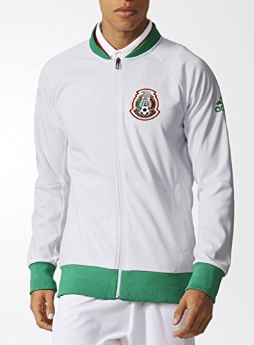 adidas Mens 2016 Mexico Anthem Knit Jacket Small ()