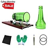 Glass Bottle Cutter, Bottle Cutting Machine Kit for Wine/Beer Bottles Crafting (Green)