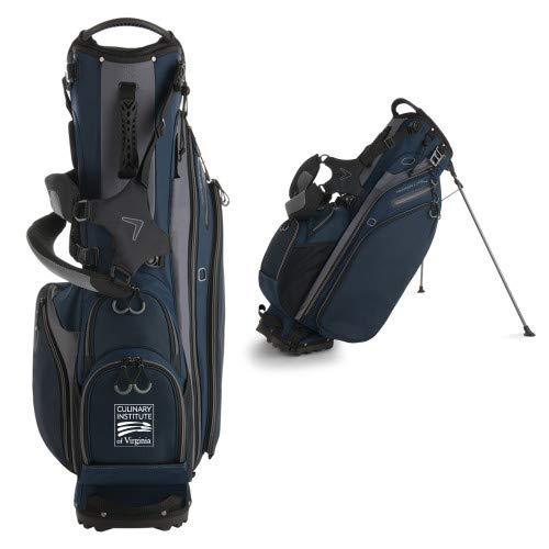 Bag Stand Golf Virginia - CollegeFanGear ECPI Callaway Hyper Lite 4 Navy Stand Bag 'Culinary Institute of Virginia'