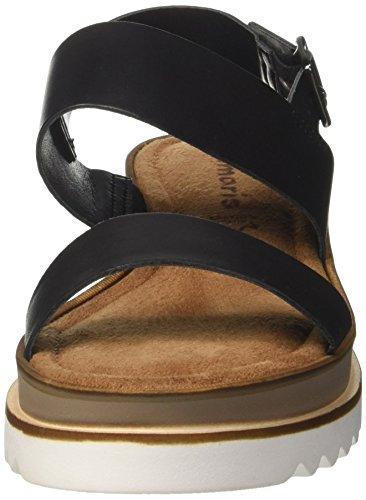 Tamaris Dames 28044 Slingback Sandalen Zwart (black)