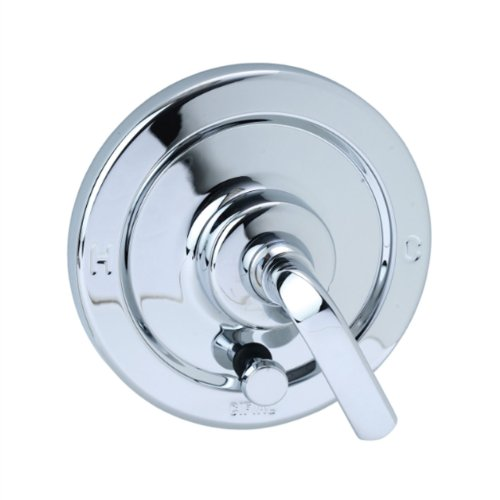 Cifial 295.610.625 Stone Mountain Pressure-Balance Shower Trim with Diverter, Polished Chrome - Cifial Stone