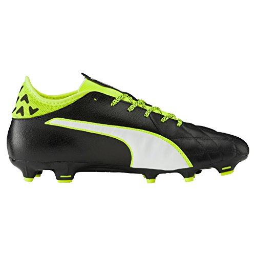 3 Puma Yellow puma Black White Da Fg safety Lth 01 Evotouch Scarpe Calcio Nero Uomo fBqwB5