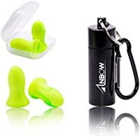 ANBOW Foam Ear Plugs - Noise Cancelling Anti-Bacterial...