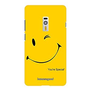 HomeSoGood You Are Special Yellow 3D Mobile Case For OnePlus 2 (Back Cover)