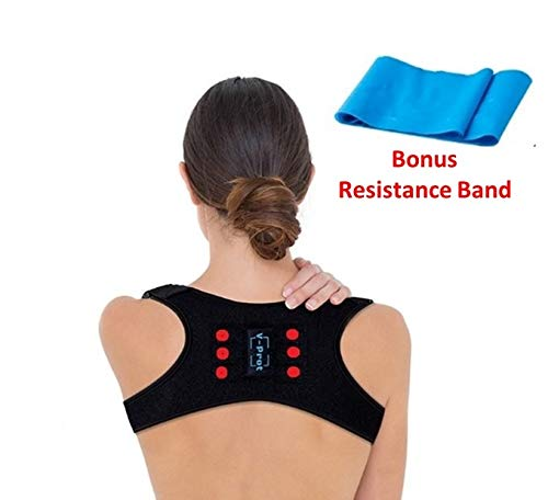 Posture Corrector for Women and Men Adjustable Upper Back Brace for Clavicle Support and Pain Relief...