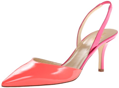 62f1d4f39 kate spade new york Women's Jeanette D'Orsay Pump,Geranium Nappa/Lipstick  Pink Patent,8 M US - Buy Online in Oman. | Apparel Products in Oman - See  Prices, ...