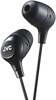 JVC HAFX38B Black Marshmallow in-Ear Headphones Original New Brand
