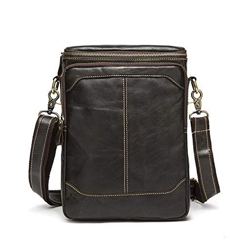 02 Outdoor Man Leisure Leather Shoulder Fashion Bag Single Messenger Haixin Business Brown Bag Travel Ofqzp6dqw