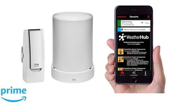 TFA Dostmann Estación meteorológica Smartphones Starter-Set 3 con ...