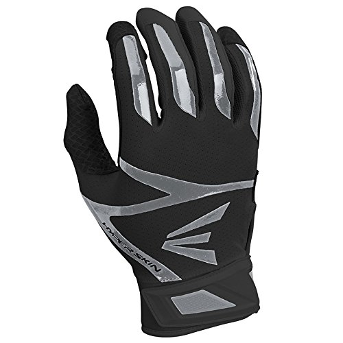 - Easton Z10 Hyperskin Batting Gloves, Black, Large