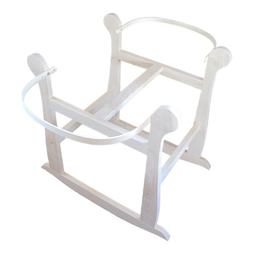 Regal Rocker Rocking Stand - Natural - for Moses Basket by Rockers by Richard