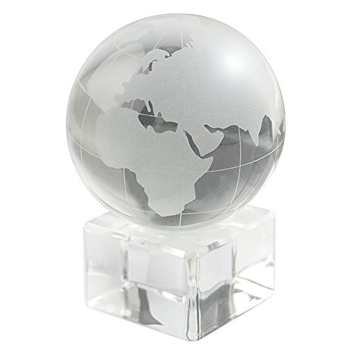Decorative Executive Home Office - eBuyGB World Globe Decorative Ornament - Home Office Décor and Executive Paperweight