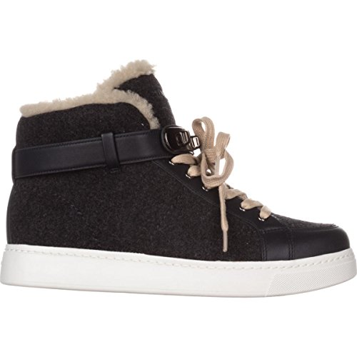 Grey Fleece High Sneakers Dark Richmond Coach Lined Fashion Top 8zF5wqP6