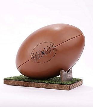 De balón de Rugby - marrón, sin soporte): Amazon.es: Deportes y ...