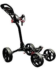 Ezeglide Compact Quad - Carrito de golf de mano con ruedas