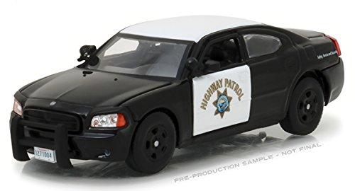 2008 Dodge Charger Police Interceptor Car California Highway Patrol (CHP) 1/43 Diecast Model Car Greenlight 86087
