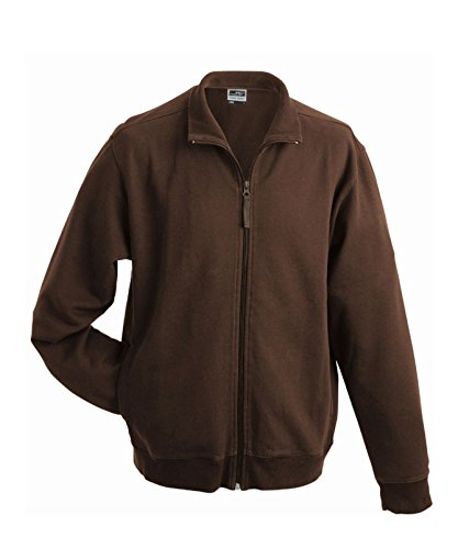 French Terry Classica In Jacket Giacca Brown Sweat OFqBESwxS