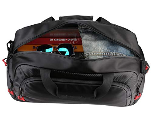 Ruigor Motion RGL6401 Duffel Bag Black Water Repellent Materials by Ruigor (Image #2)