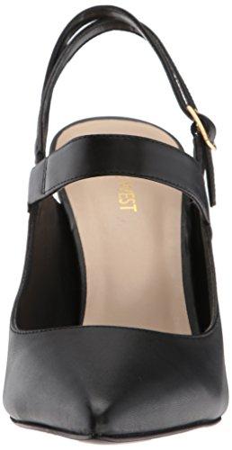 Abierta Mujer para Tacón 118203000075 de Black Zapatos Nine Punta con West nxqAwU4f0z