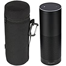 Kinzd® Carry Case for Amazon Echo - Water Resistant Protective Sleeve Cover Bag for Amazon Echo Wireless Bluetooth Speaker