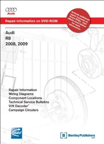 Audi R8 2008, 2009: Repair Manual on DVD-ROM