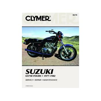 amazon com clymer repair manual for suzuki gs750 gs 750 fours 77 82 rh amazon com 78 Suzuki GS750 Parts 1980 Suzuki GS 750
