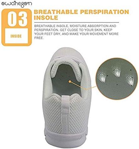 Owaheson Lace-up Sneaker Training Shoe Mens Womens Heaven Gold Holy City Jerusalem