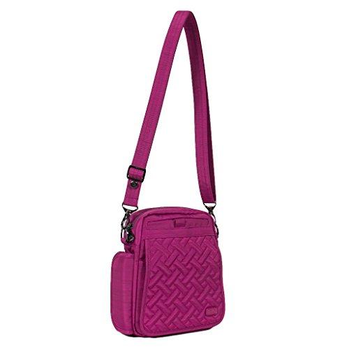 Women's Flapper Orchid Bag Body Cross Brushed Black Brushed Size Lug One UBdgqwx5B