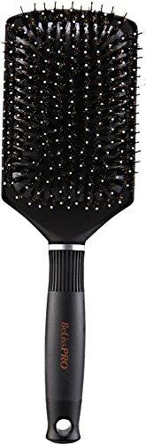 (BeLissPRO Titanium Ceramic Boar/Nylon Cushion Paddle Brush by BeLissPRO)