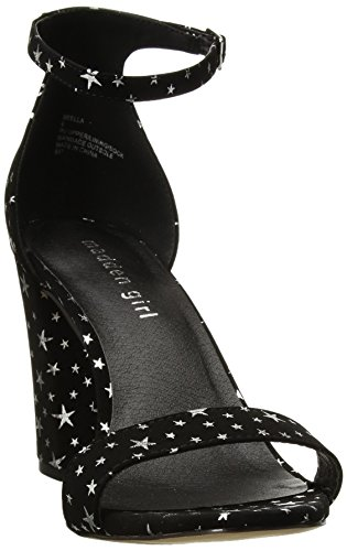 Ragazza Madden Womens Beella Dress Sandalo Black Star