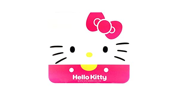 Sanrio Hello Kitty ordenador portátil ratón Pad: Face: Amazon.es: Oficina y papelería