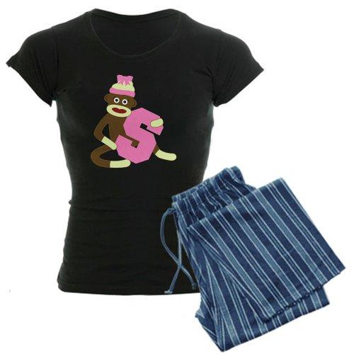 CafePress - Sock Monkey Monogram Girl S Women's