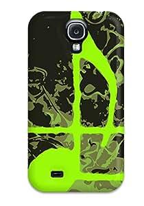 New Design Shatterproof EVPrLoj20224bjHGF Case For Galaxy S4 (music Art )
