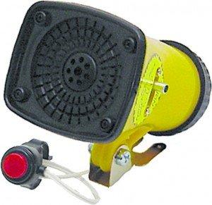 Action Megaphone Siren 3-Tone Horn