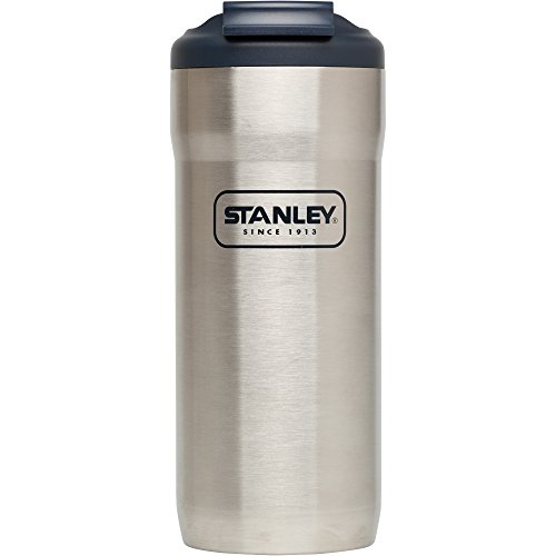 Stanley Adventure Mug Lock, 16 oz, Stainless - Thermos Adventure Stanley